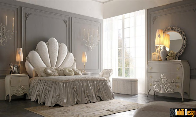 Mobilier_italian_dormitor_Constanta | Dormitoare_clasice_albe_Italia_Constanta_Romania.