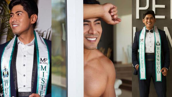 Paolo Cabanillas es Mister Perú Huánuco 2021