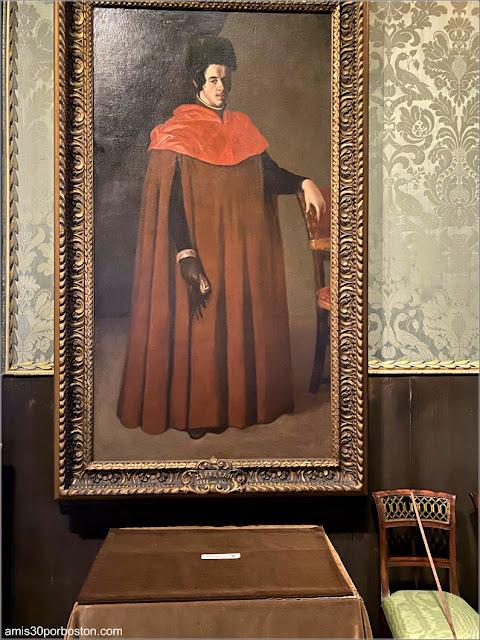 """""""Un Doctor en Leyes"""" de Francisco de Zurbarán en el Museo de Isabella Stewart Gardner"""