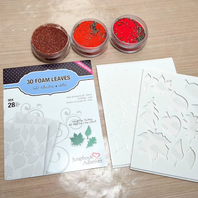 How to Emboss 3D Foam with Iced Enamels Relique Powders by Dana Tatar for Scrapbook Adhesives by 3L