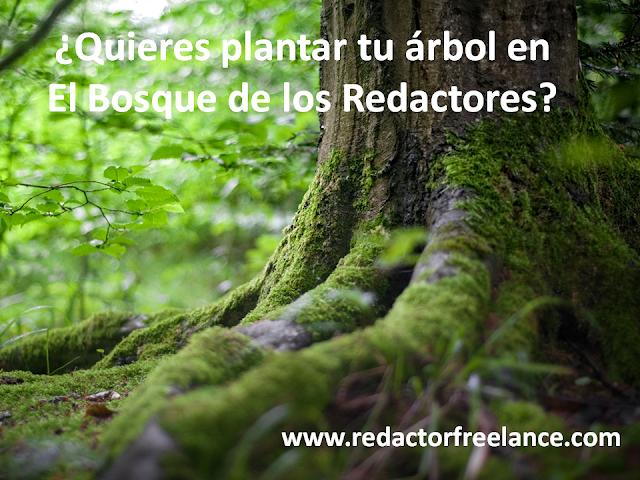 Quieres plantar tu árbol en El Bosque de los Redactores