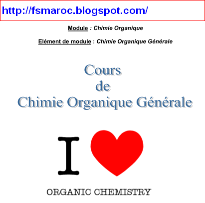 chimie organique general