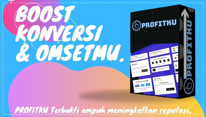 Profitku - Social Proof untuk Boost Profit Di Website PAKET UNLIMETED