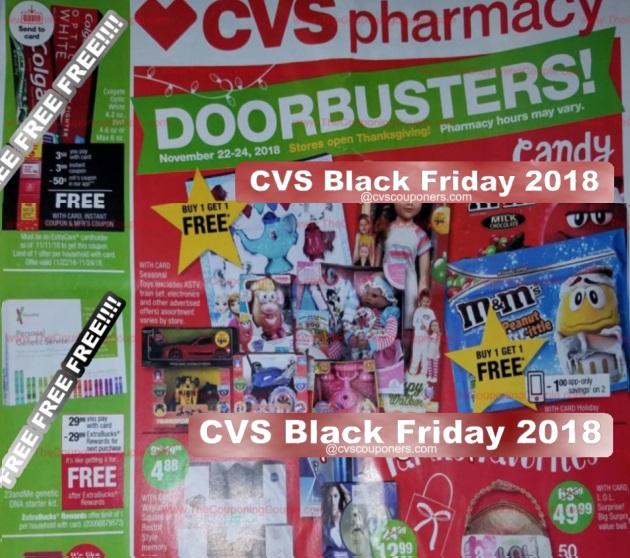 CVS Black Friday Ad 2018 Page1