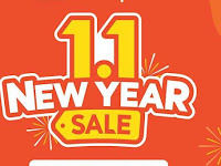 Awal Tahun Baru Shopee Gelar New Year Sale