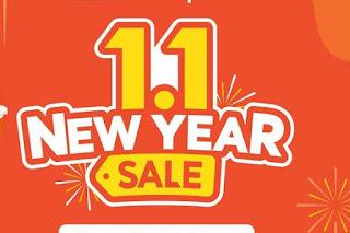 Tahun Baru Shopee Gelar New Year Sale