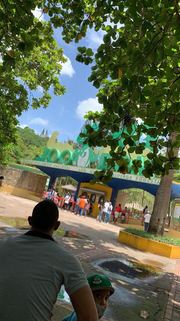 Ciudadano se queja que tras visita al Jardín Botánico de Santo Domingo, aguacero inunda su vehículo en el parqueo del mismo
