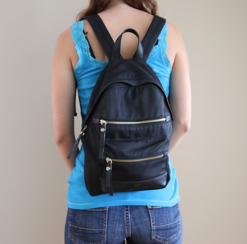 Tutilo black backpack