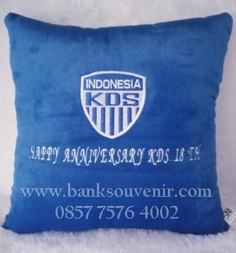 Jual Souvenir Bantal Bordir Custom Terbaik di Indoensia