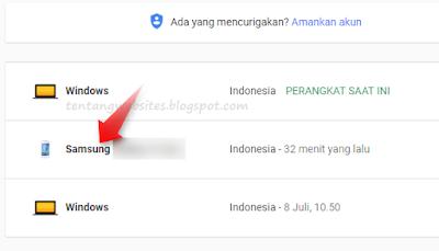 Solusi lupa logout dari akun google AdSense karena Hp hilang