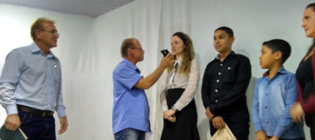 Vereadores Mirins são diplomados em Iretama
