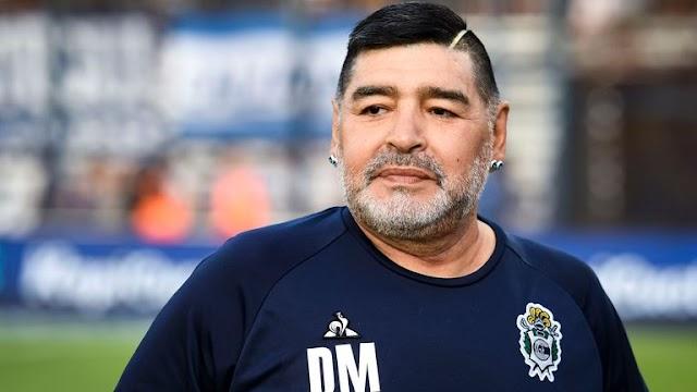 Soccer legend, Diego Maradona dies at 60 following heart attack