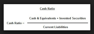 Pengertian Cash ratio