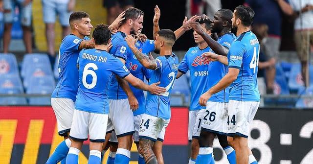ملخص اهداف مباراة نابولي وجنوي (2-1) الدوري الايطالي
