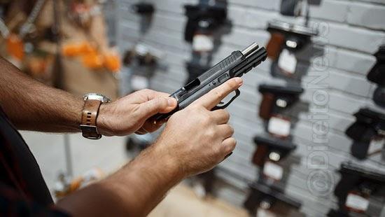 fim imposto importacao armas divide senadores