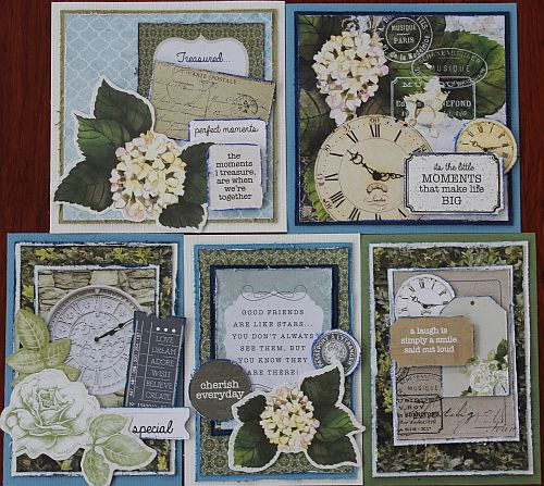 Michelles Cards Stamps Provincial Card Kits