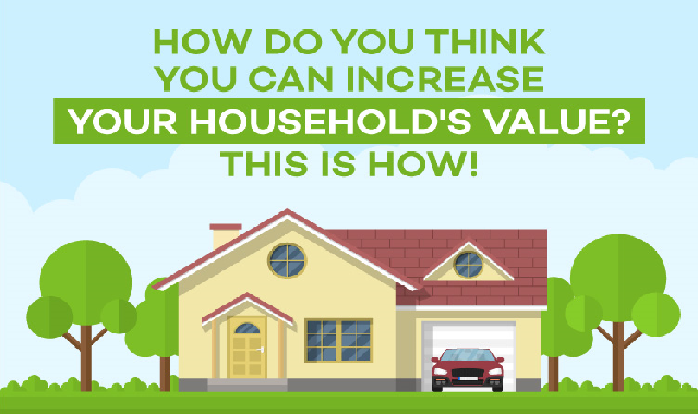 How Do You Think You Can Increase Your Household's Value? #infographic