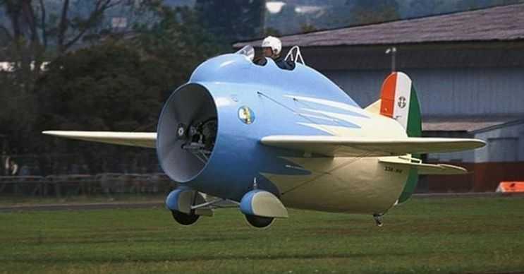Stipa Caproni mini bir uçaktı, 1932 yılında tasarlandığında kimse uçacağına inanmamıştı.