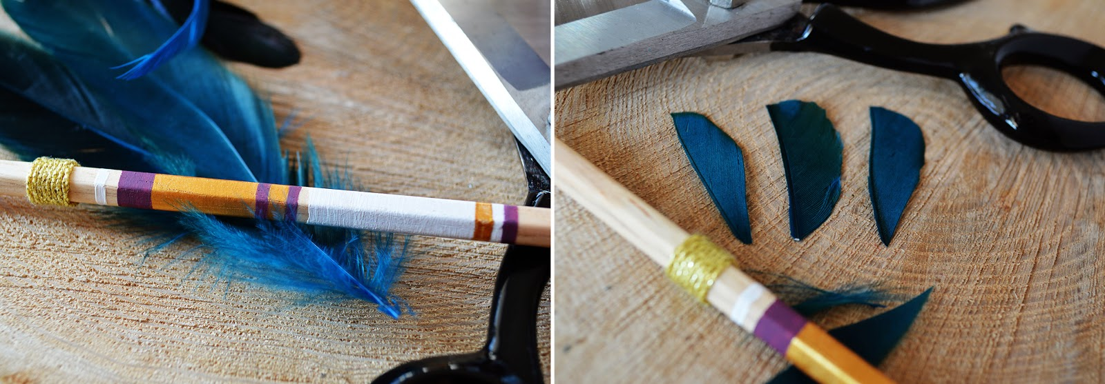 DIY Arrow Pencils | Motte's Blog