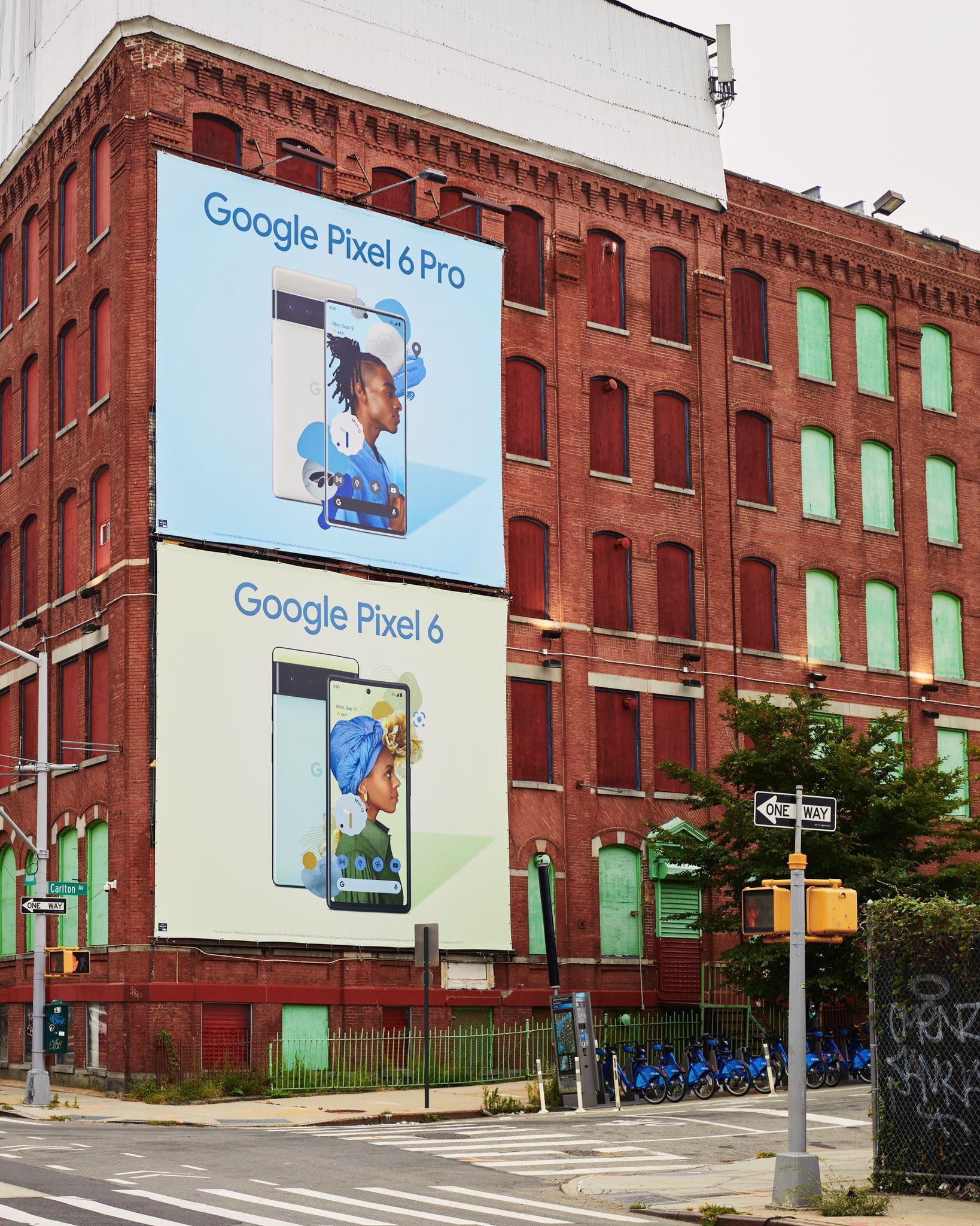 Google pubblicizza massicciamente i Pixel 6 e 6 Pro prima del lancio