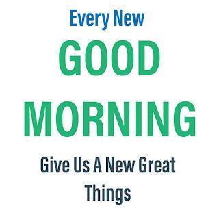 Great Good Morning Image