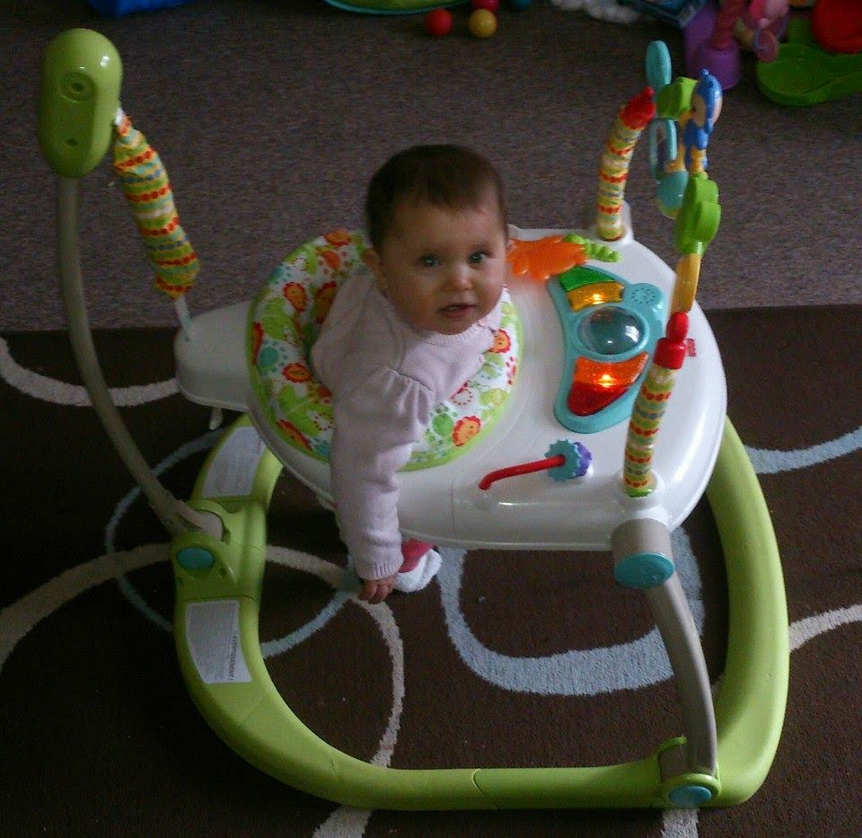 900f8893e679 Tantrums To Smiles  Fisher-Price Space saver Jumperoo   REVIEW