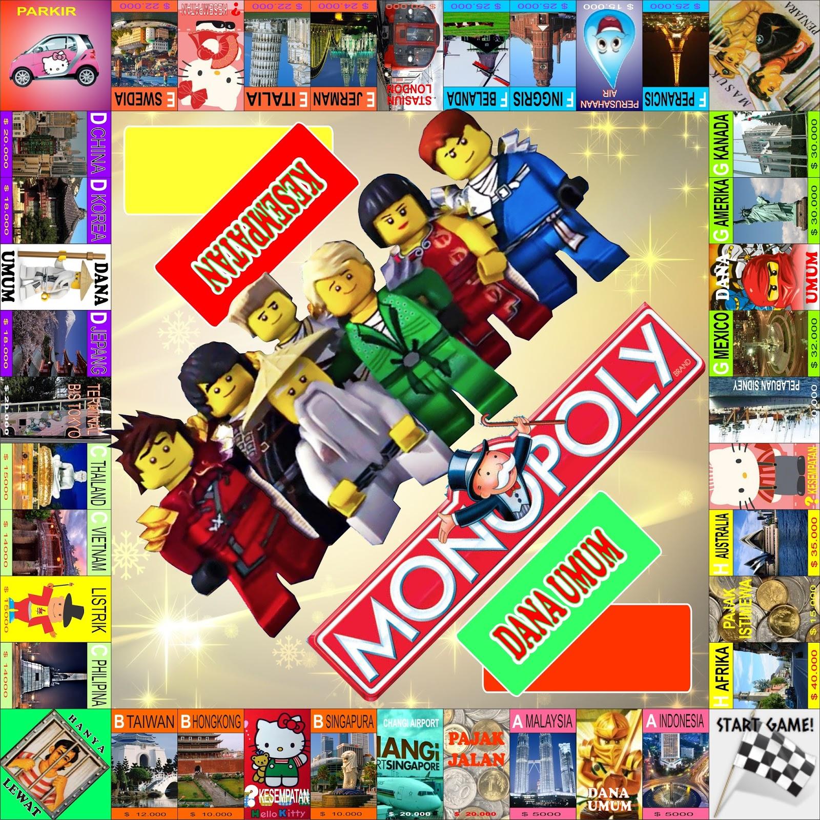 Monopoli Mainan Paling Laris