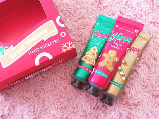 Trio pour les mains Happy Sweet Holiday de Tonymoly