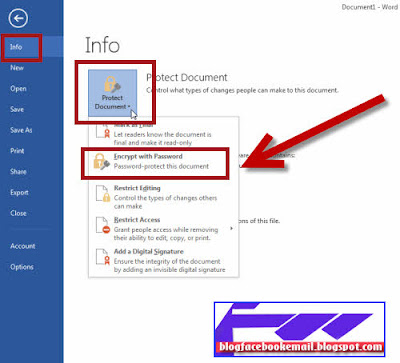 Cara Mengunci atau menciptakan Password di Excel Cara Mengunci / Memberi Password di Word / Excel Dengan Mudah