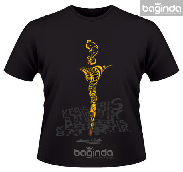 Facebook Batik Keris: BAGINDA (Batik Glow In The Dark