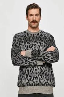 AllSaints - Мъжки Пуловер