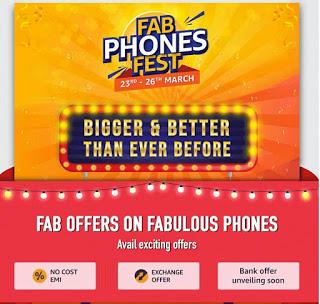 Amazon Fab Phones Fest (23th - 26 March)