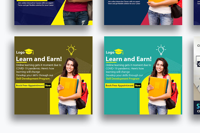 Education | social media containers / Post Designs