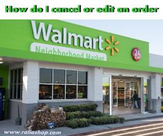 Cara Membatalkan Pesanan Walmart