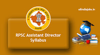 RPSC Assistant Director Syllabus