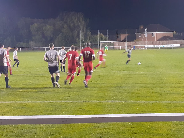 Emmerson Boyce in debut action for Ashton Town
