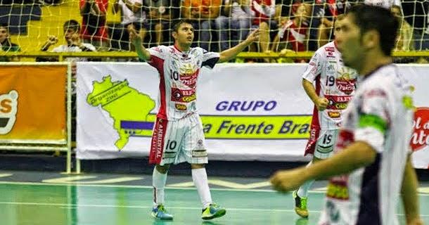 c2e99eab58cb8 ADHering Blumenau perde na estreia da Taça Nacional de Futsal