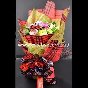 Kertas Buket Bunga / Hand Bouquet Seri CS-060060-Gold