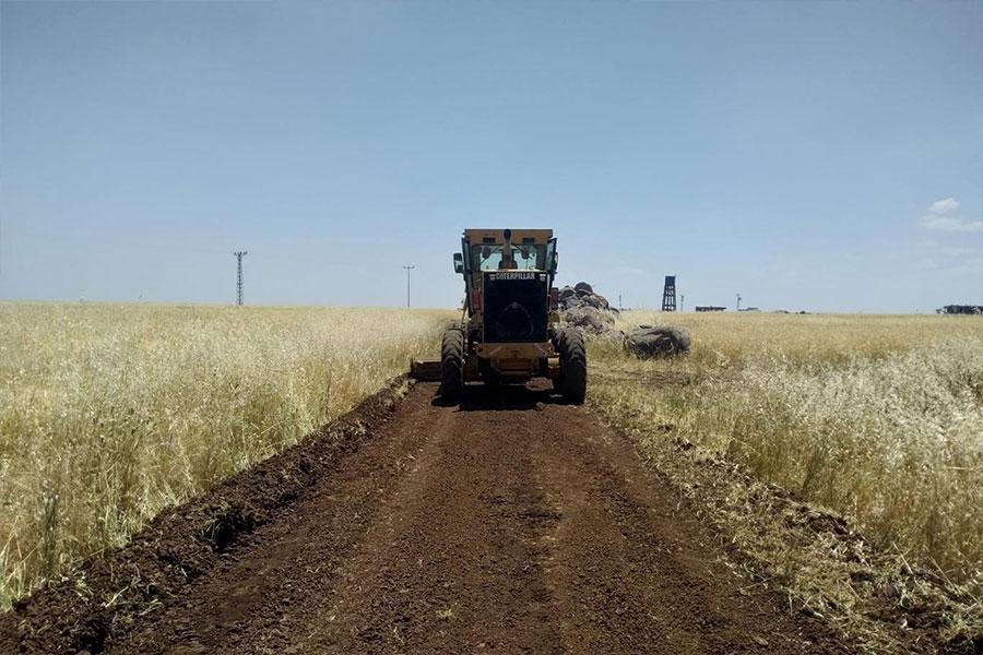 Diyarbakır Bağlar Belediyesi, kırsal yerleşim yerlerinde çalışmalarına devam ediyor