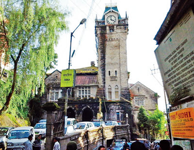 Darjeeling's iconic Capitol Hall