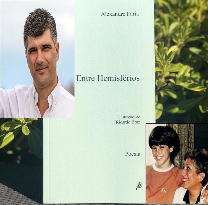 """TRIBUTO. """"Entre Hemisférios"""" é a última obra do presidente do Estoril Praia dedicada à mãe Maria Virgínia Aguiar"""