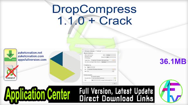 DropCompress 1.1.0 + Crack
