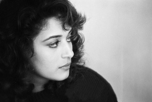 Madhuri Dixit Nene Black And White Photos