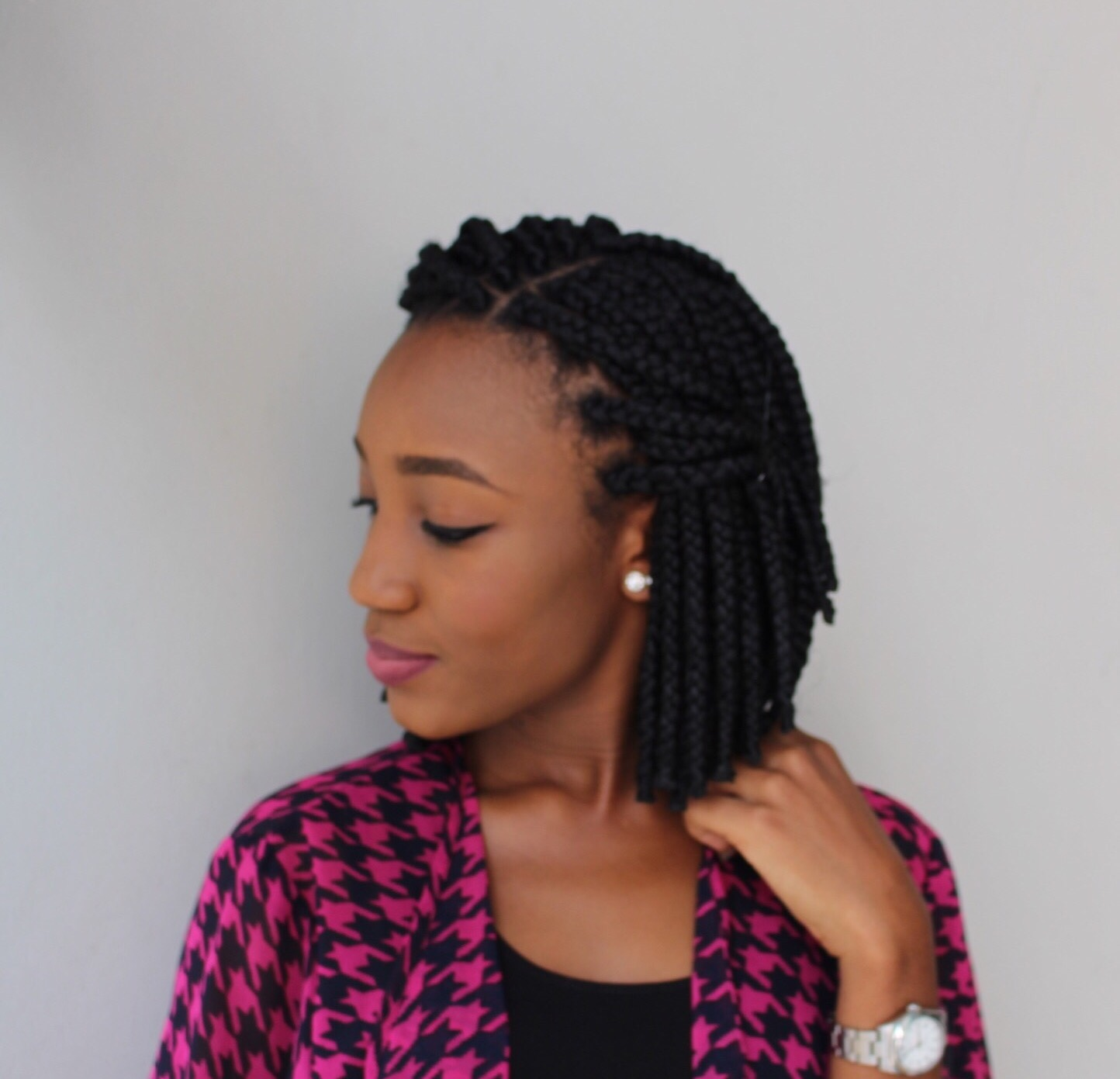 Oyime's Musings : Bob Box Braids: 3rd Time Lucky?