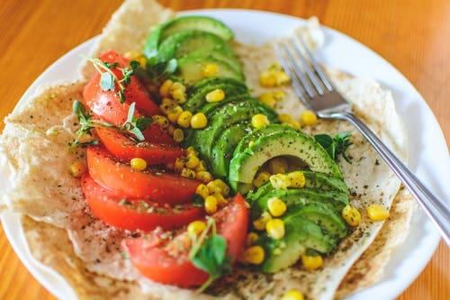 Delicious spicy corn salad