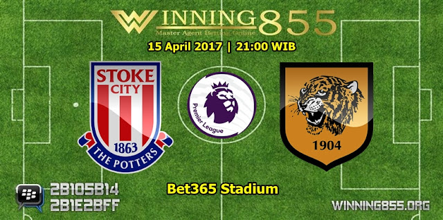 Prediksi Skor Stoke City vs Hull City 15 April 2017