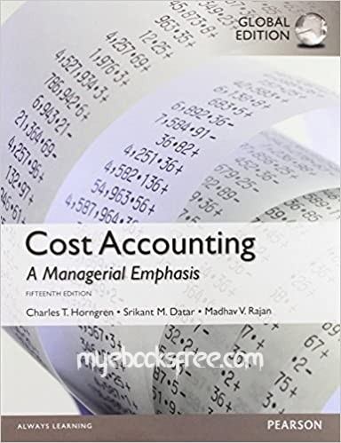 Cost Accounting 15e Pdf Download