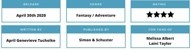 fantasy, april genevieve tucholke, books for fans of the hazel wood