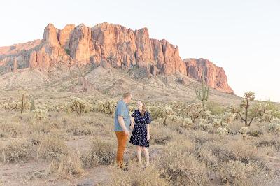 Lost Dutchman AZ engagement session