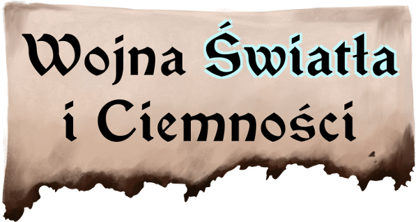 Wojna Światła i Ciemności – LOGO – Książka Forest Blackwood – fantasy, polska fantastyka